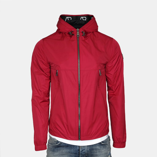 AB-Lifestyle AB Hooded Summer Jacket Red