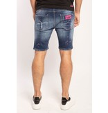 My Brand My Brand Washed 1D Short Jeans Denim pink