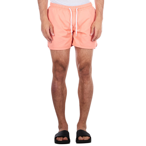 Purewhite Swimshort Coral Orange