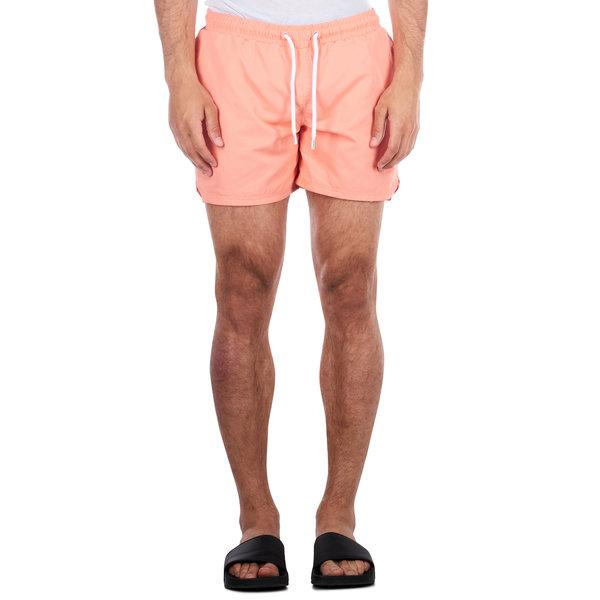 Purewhite Swimshort Coral Orange