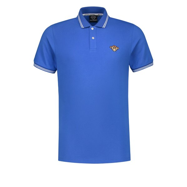 Black Bananas Basic Polo Cobalt Blue