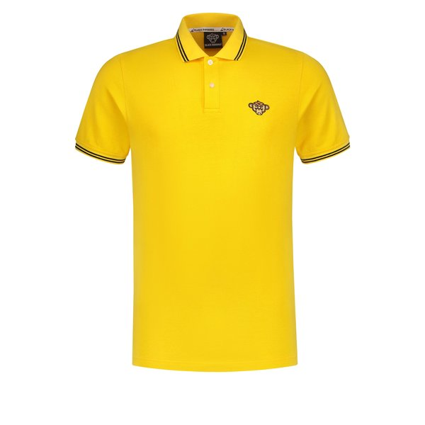 Black Bananas Basic Polo Yellow