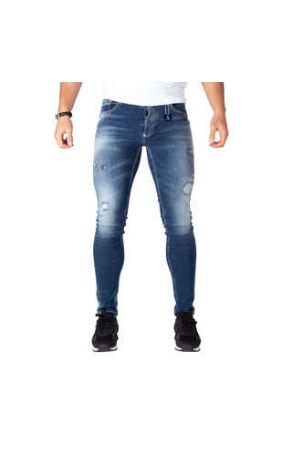 LEYON LEYON Destroyed Jeans 1672 Blue