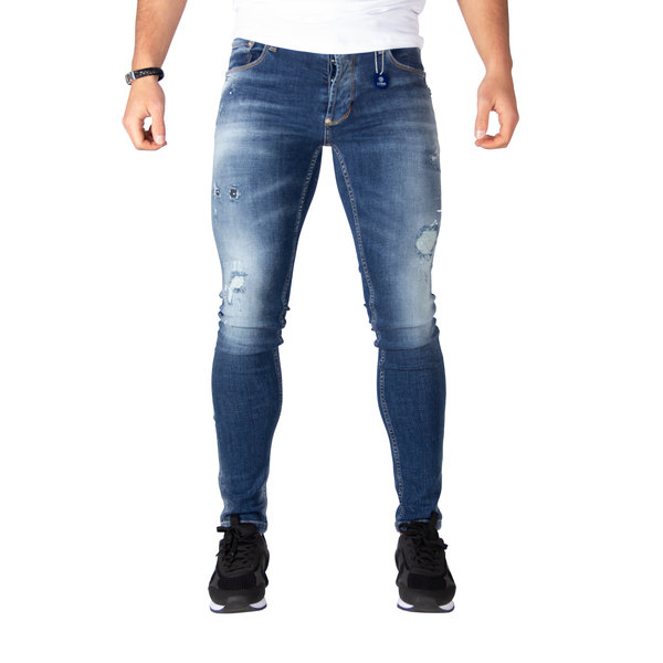 LEYON Destroyed Jeans 1672 Blue