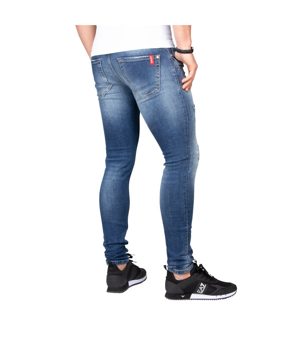 LEYON LEYON Destroyed Jeans 1672 Blue