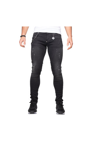 LEYON LEYON Spotted Denim Black 1675