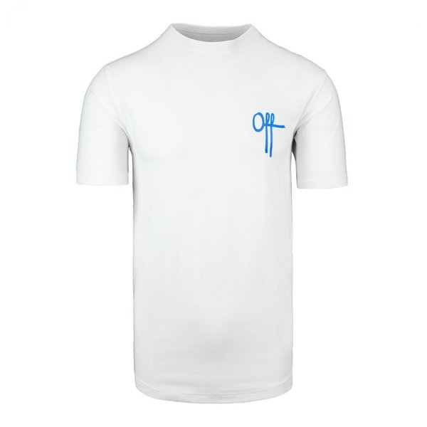 Off The Pitch Full Stop Tee SS White/Neon