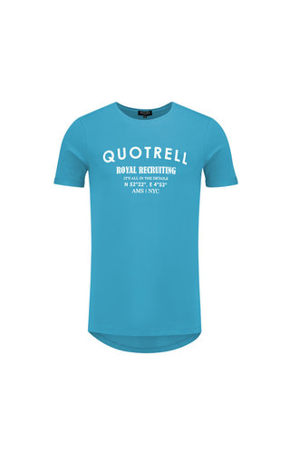 Quotrell Quotrell Royal Tee Azure/White