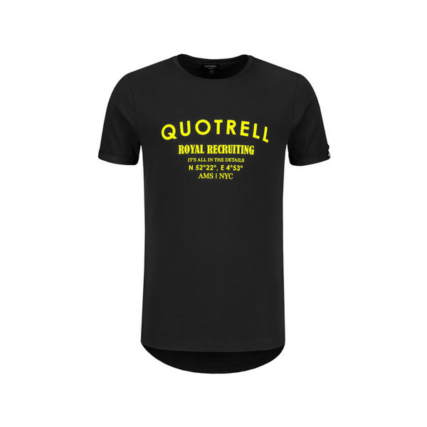 Quotrell Royal Tee Black/Yellow