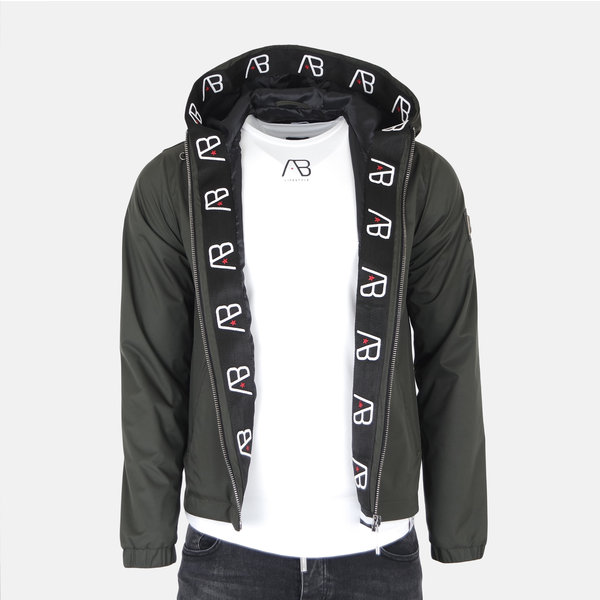 AB Hooded Jacket Green