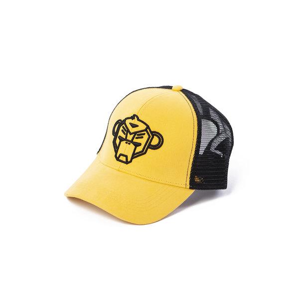 Black bananas Monkey Trucker Cap Yellow