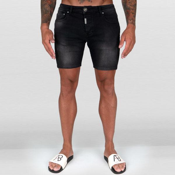 AB Short Denim Jeans Black
