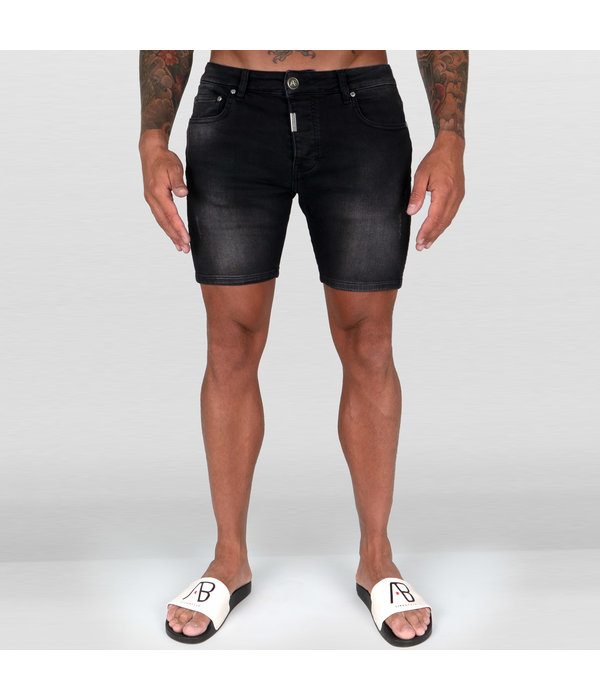 AB-Lifestyle AB Short Denim Jeans Black
