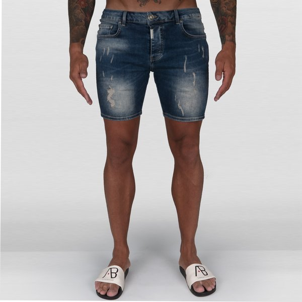 AB Short Denim Jeans Burlap