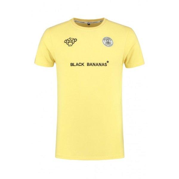 Black Bananas F.C. Basic Tee Yellow