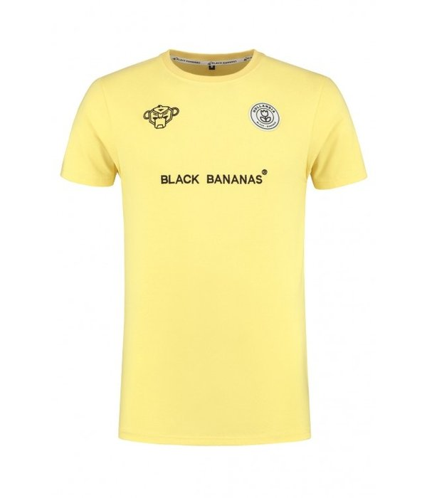 Black Bananas Black Bananas F.C. Basic Tee Yellow