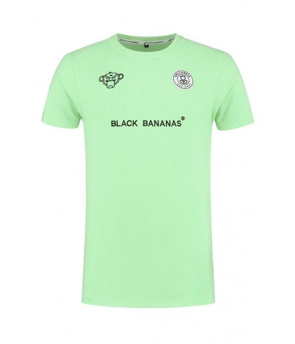Black Bananas Black Bananas F.C. Basic Tee Mint groen
