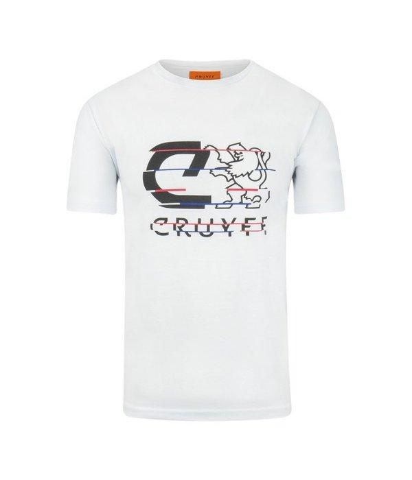 Cruyff Cruyff Galwin SS Tee White