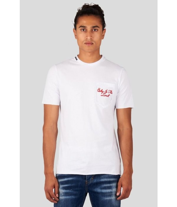 My Brand My Brand Sky All Over 07 T-Shirt White