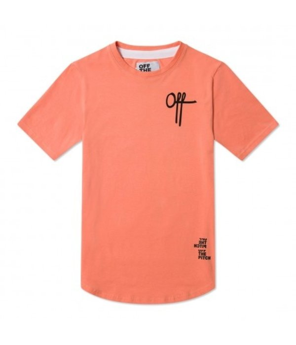 Off The Pitch OTP Off Printed Tee Pink