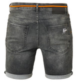 Malelions Malelions Denim Short Grey/Orange