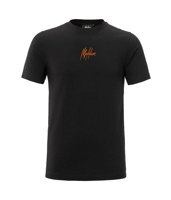 Malelions Malelions T-shirt Black/Orange