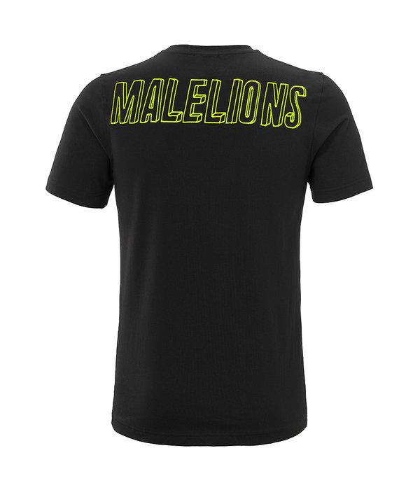 Malelions Malelions T-shirt 3D Black Yellow