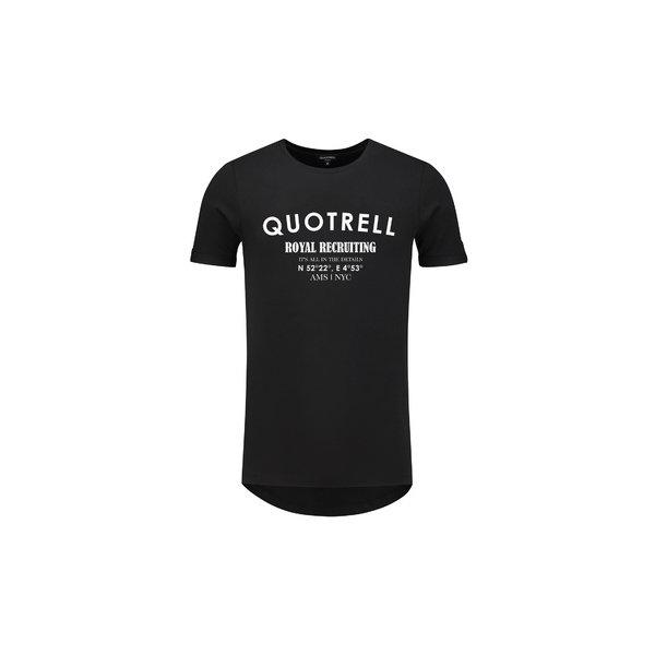 Quotrell Tee Black/White
