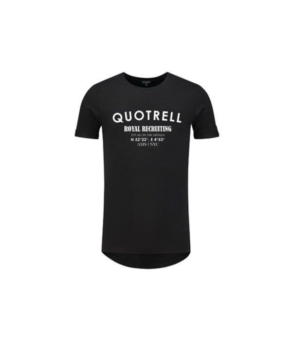 Quotrell Quotrell Tee Black/White