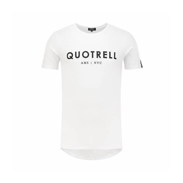 Quotrell Tee White/Black