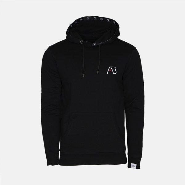 AB Hoodie Logo Black