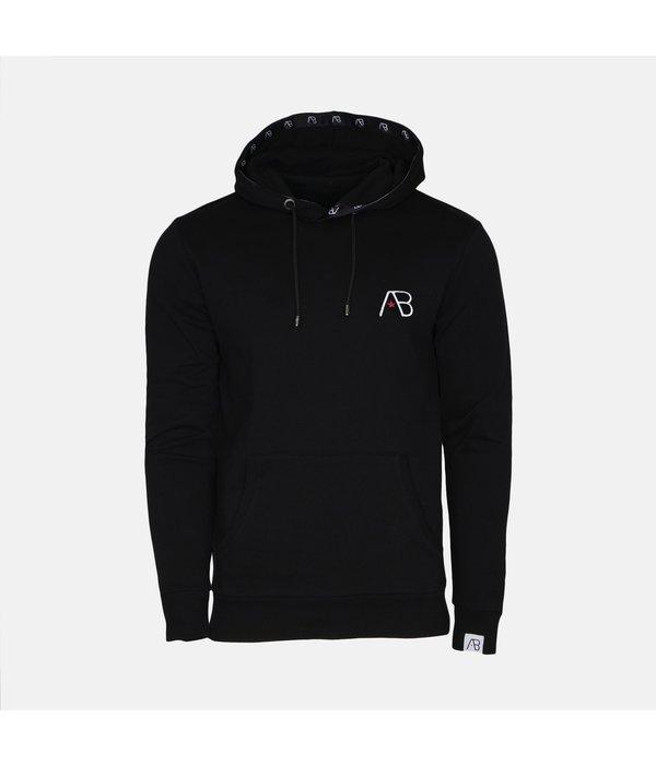 AB-Lifestyle AB Hoodie Logo Black
