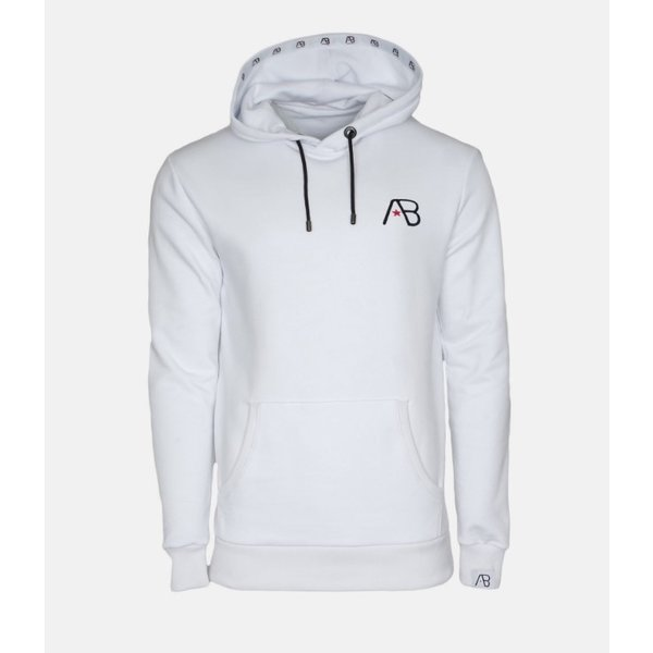 AB Hoodie Logo White