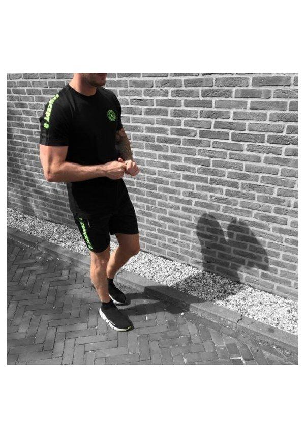 Concept R T-shirt Zwart/Groen