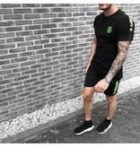 Concept Concept R T-shirt Zwart/Groen