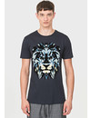Antony Morato T-shirt Blue Lion MMKS01663