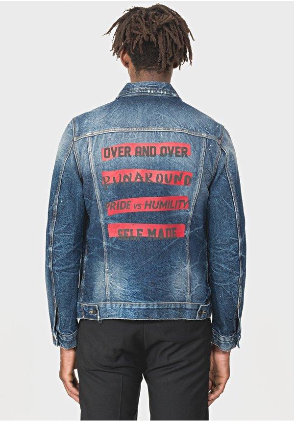 Antony Morato Blue Denim Jacket MMCO00568