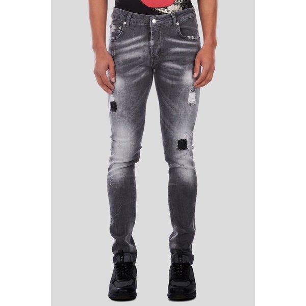 My Brand Men Spijkerbroek grijs
