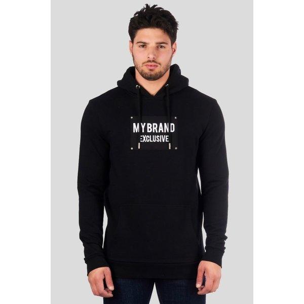 My Brand Studs Hoodie Exclusive Zwart