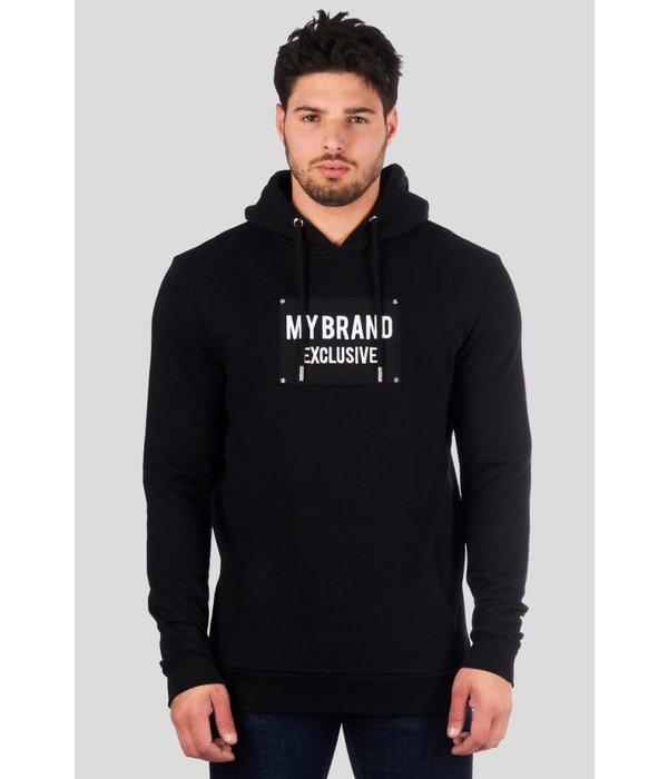 My Brand My Brand Studs Hoodie Exclusive Zwart