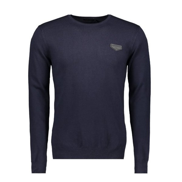 AM Basic Pullover Navy MMSW00805
