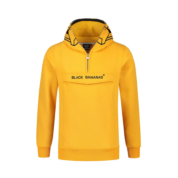Black Bananas Incognito Hoody Yellow