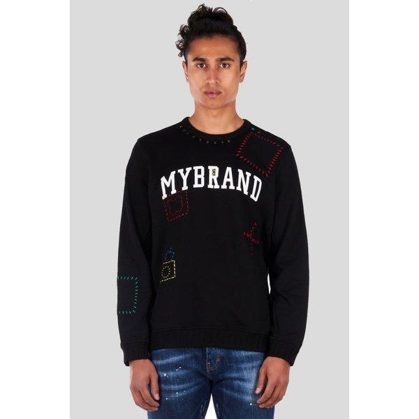 My Brand Voodoo Sweater MMB-SW035-M001 Black