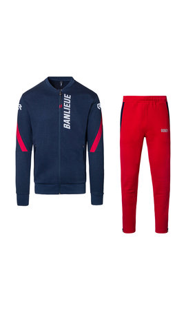 Robey X Banlieue Robey X Banlieue Jog Suit Navy/Red