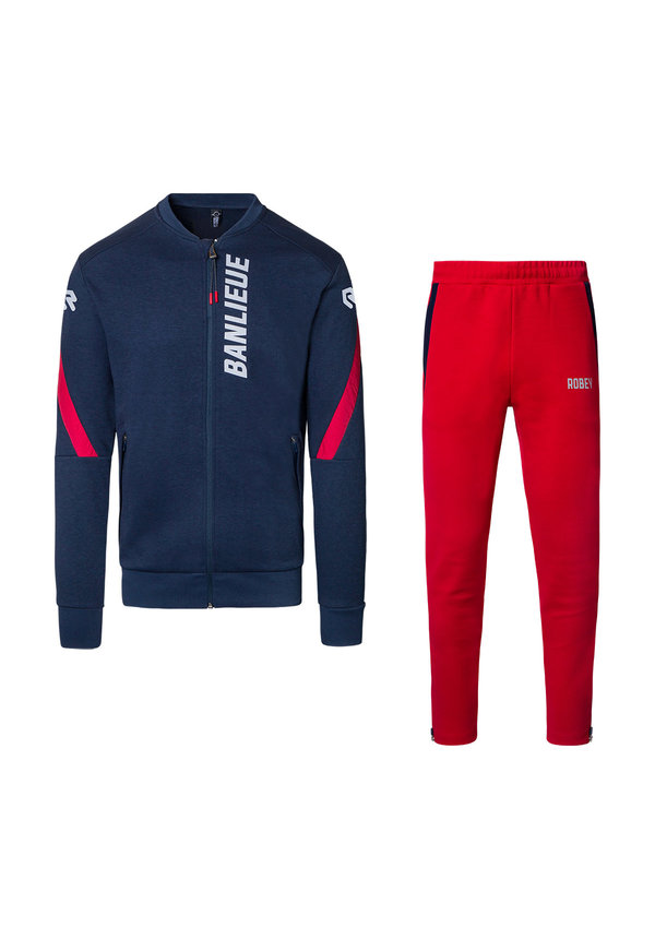 Robey X Banlieue Jog Suit Navy/Red