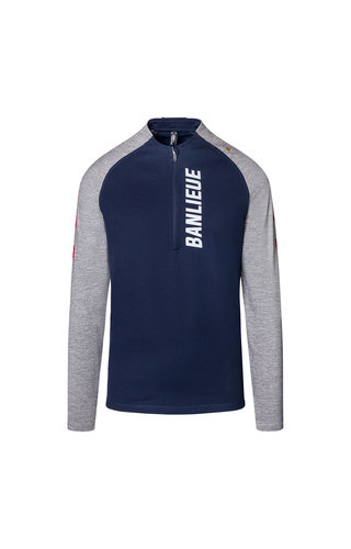 Robey X Banlieue Robey X Banlieue Performance Tracksuit Navy/Red/Grey