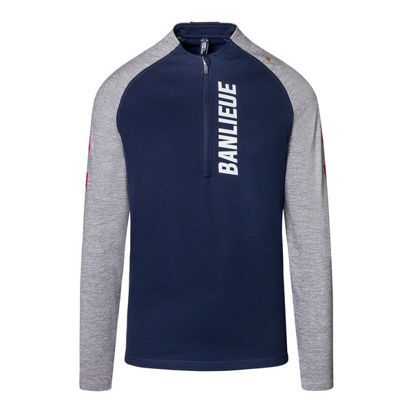 Robey X Banlieue Performance Tracksuit Navy/Red/Grey