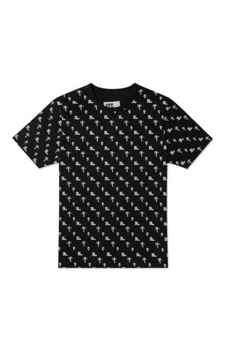 Off The Pitch OFF The Pitch All Over 2.0 Tee Black