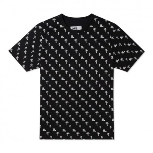 OFF The Pitch All Over 2.0 Tee Black