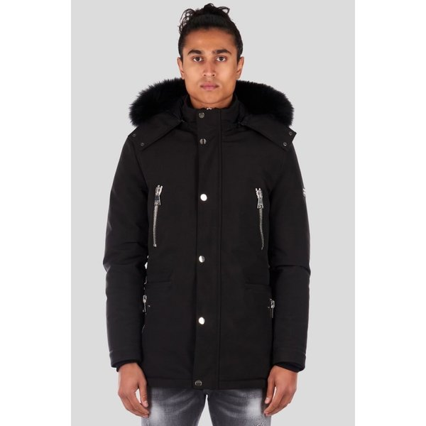 My Brand 03 Parka Jacket MMB-JA051-ST001 Zwart